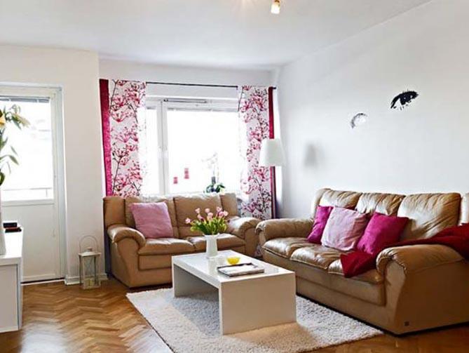 Современный дизайн гостиной 2