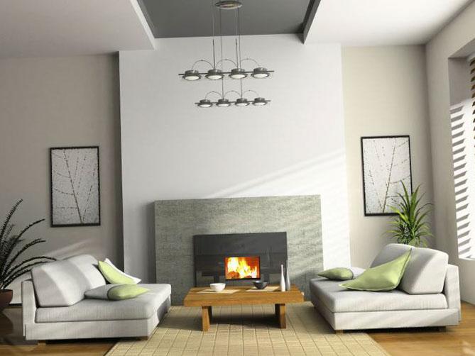 Дизайн интерьера гостиной 1