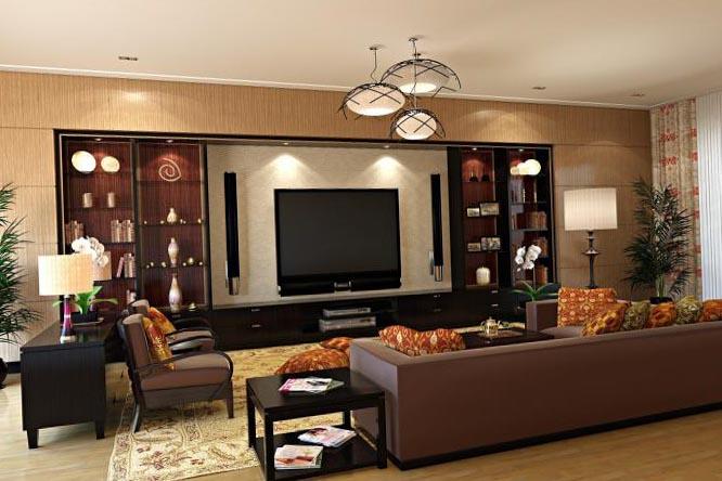 Дизайн интерьера гостиной 6