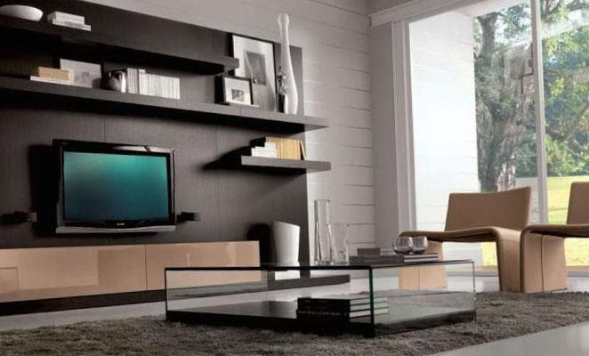 Дизайн интерьера зала 1
