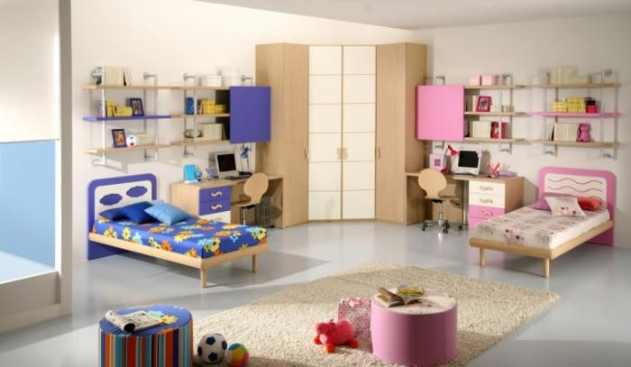 Дизайн детской для мальчика и девочки 3