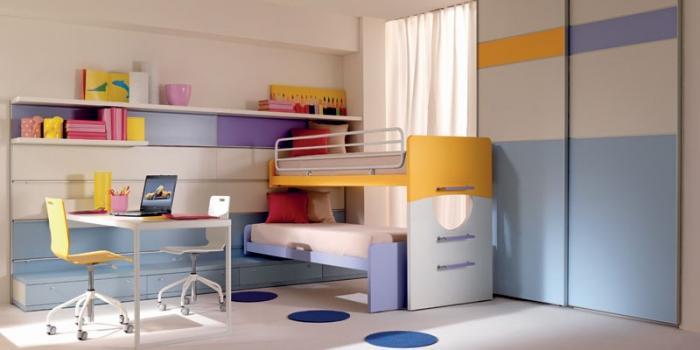 Дизайн детской для мальчика и девочки 4
