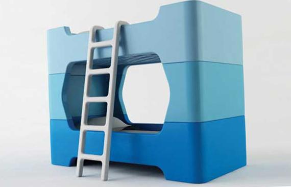 Детские двухъярусные кровати - фото 100 кроватей с диваном, трансформер и тд