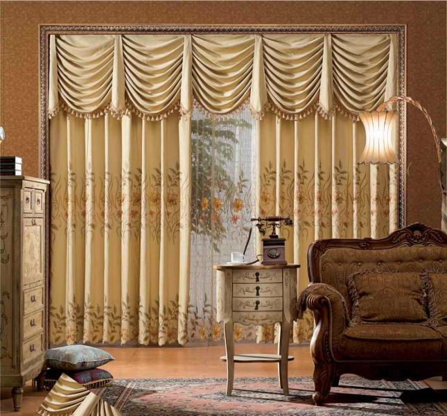 Французский стиль дизайна штор фото 3