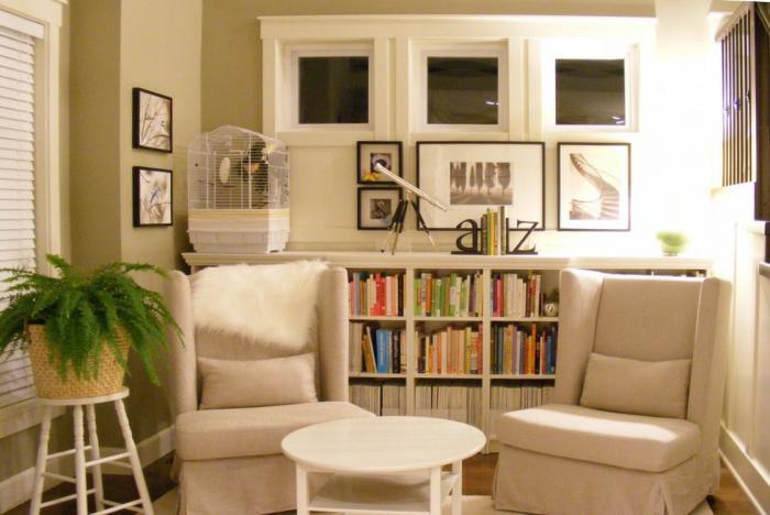 Примеры оформления комнаты с помощью мебели от Икеа 2