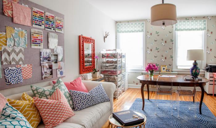 Примеры оформления комнаты с помощью мебели от Икеа 3