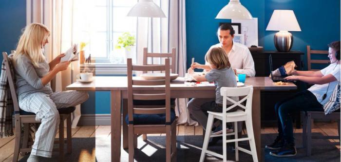 Примеры оформления комнаты с помощью мебели от Икеа 4