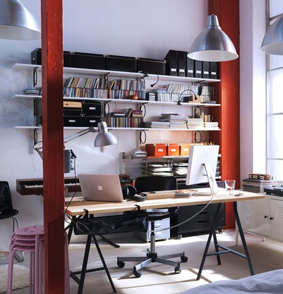 Рабочее место от Икеа 5