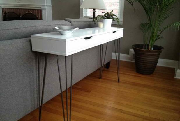 Консольный столик от Икеа 03