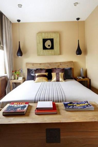 Дизайн спальни 12 кв. м - 100 фото-идей интерьера и планировки