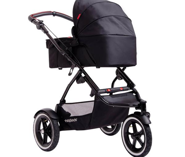 Трехколесная коляска для новорожденных -2