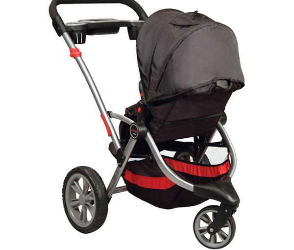 Трехколесная коляска для новорожденных -3