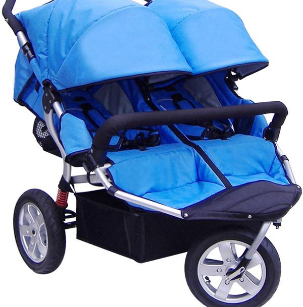 Трехколесная коляска для новорожденных -4