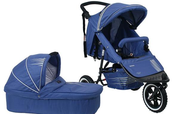 Трехколесная коляска для новорожденных -5