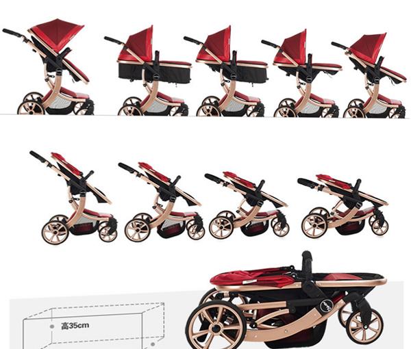 Трансформер-коляскадля новорожденных - 5