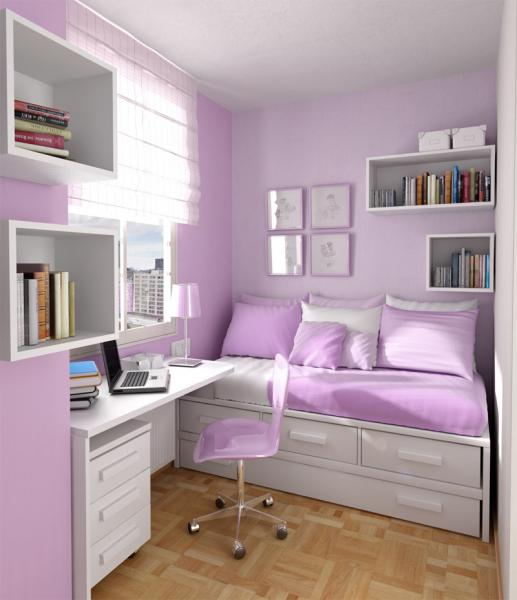 Фото детской комнаты для девочки-подростка