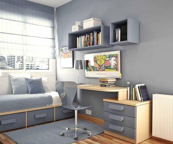 Комнаты для девочки в стиле минимализм