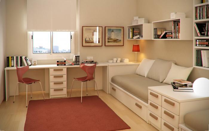 Комнаты для подростка в стиле минимализм