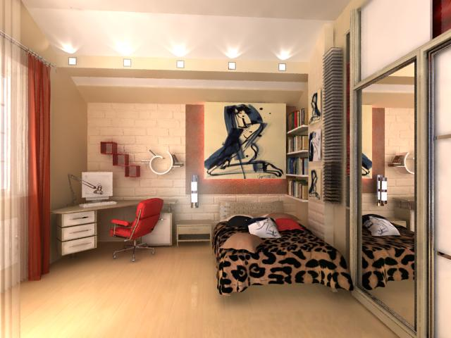 Комнаты для подростка в стиле рок