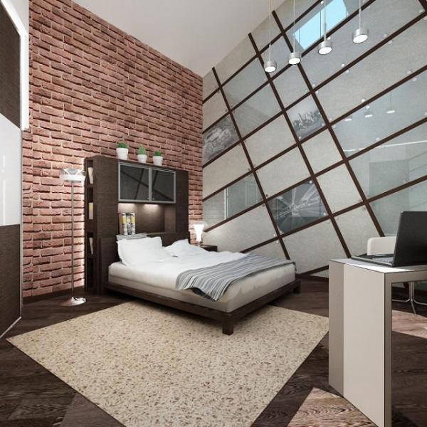 Фото комнаты для девочки-подростка в стиле Нью-Йорк