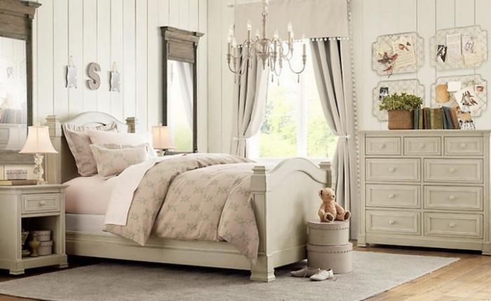 Комнаты для девочки в классическом стиле