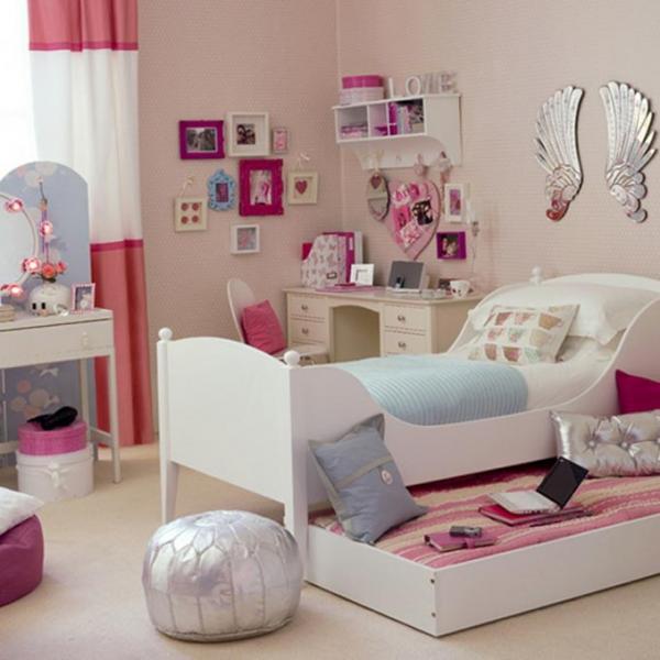 Спальная зона для девочки