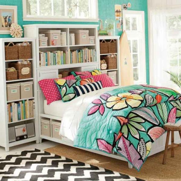 Спальная зона в детской спальне