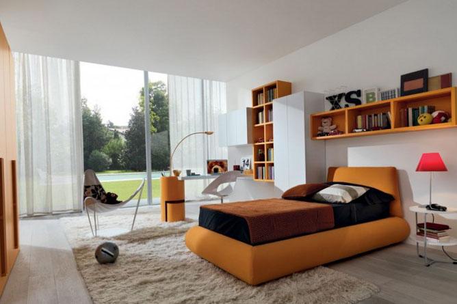 Дизайн детской спальни - фото