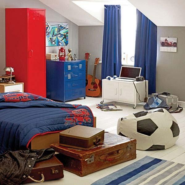 Потолки в комнате для мальчика 2