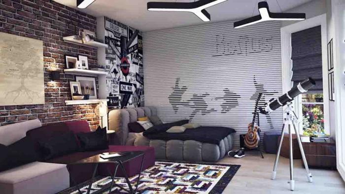 Дизайн комнаты для подростков мальчиков