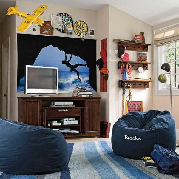 Комната для мальчика 13 лет