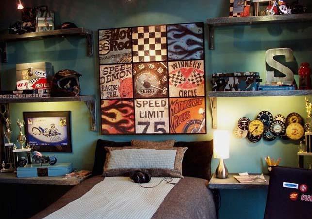 Комната для мальчика 15-16 лет