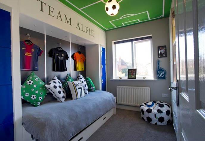 Комната для мальчика 16 лет