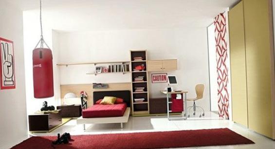 Подростковая комната для юноши 1