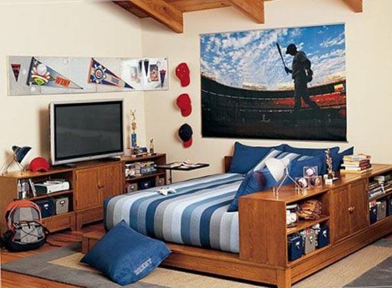 Подростковая комната для юноши 2