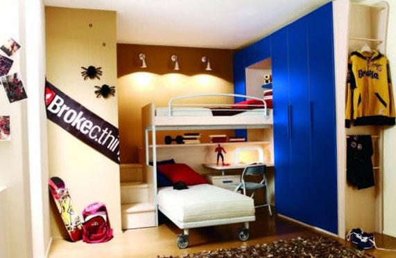 Дизайн комнаты для мальчика 8 лет