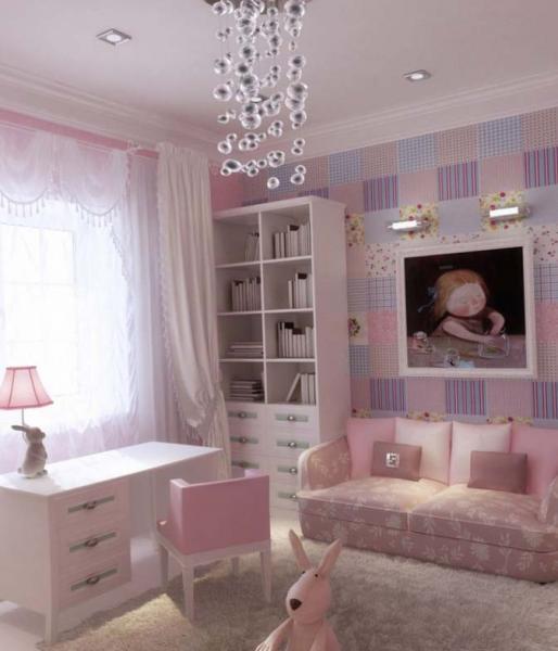 Дизайн комнаты для девочки подростка 16 лет