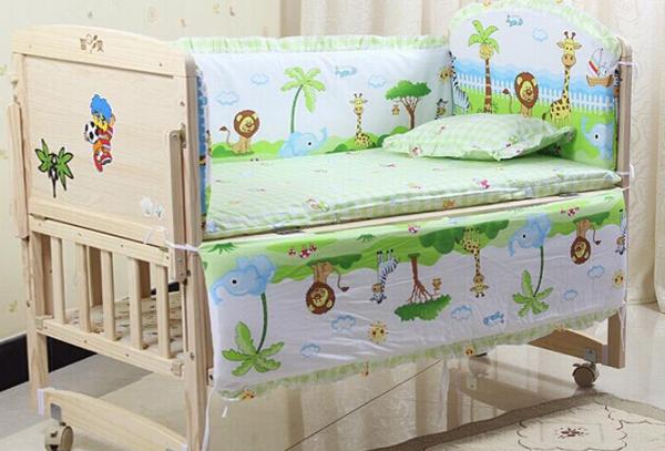 Классическая детская кроватка - 1