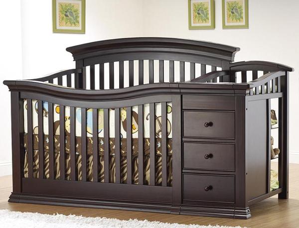 Кроватка с пеленальным столиком - 4