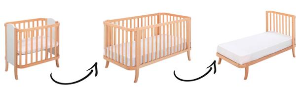Кроватка-трансформер - 1