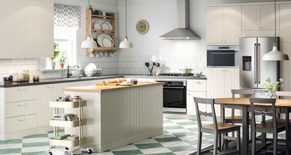 Белая кухня от Икеа - 2