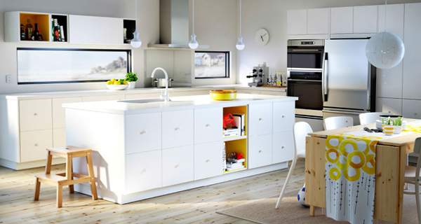 Белая кухня от Икеа - 3
