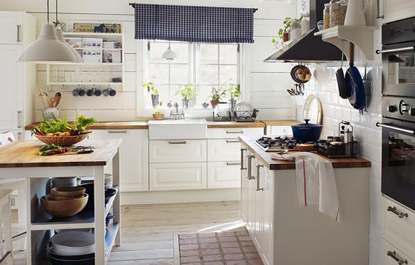 Белая кухня от Икеа - 4