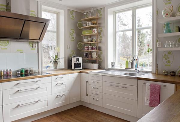 Кухонная мебель от Икеа (белая) - 1