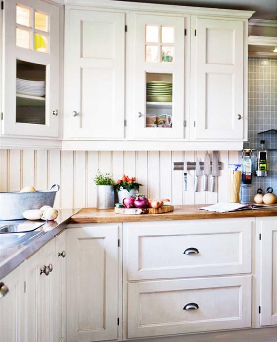 Белая кухня от Икеа - 5