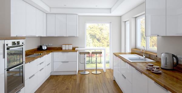 Кухонная мебель от Икеа (белая) - 2