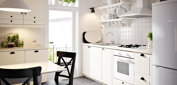 Кухонная мебель от Икеа (белая) - 4