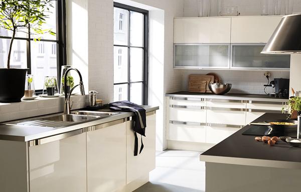 Кухонная мебель от Икеа (белая) - 5