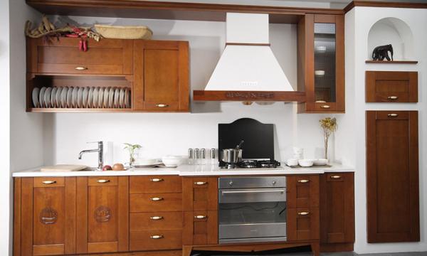Деревянная кухня от Икеа - 2