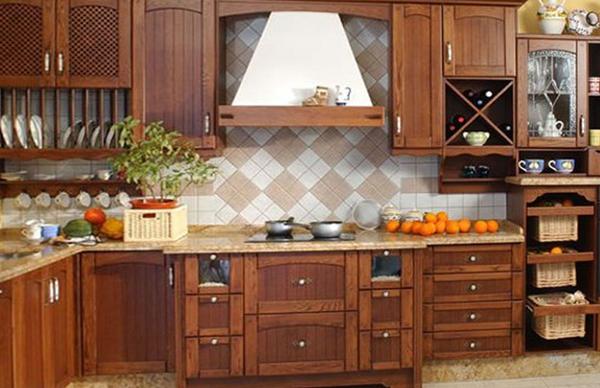 Деревянная кухня от Икеа - 3